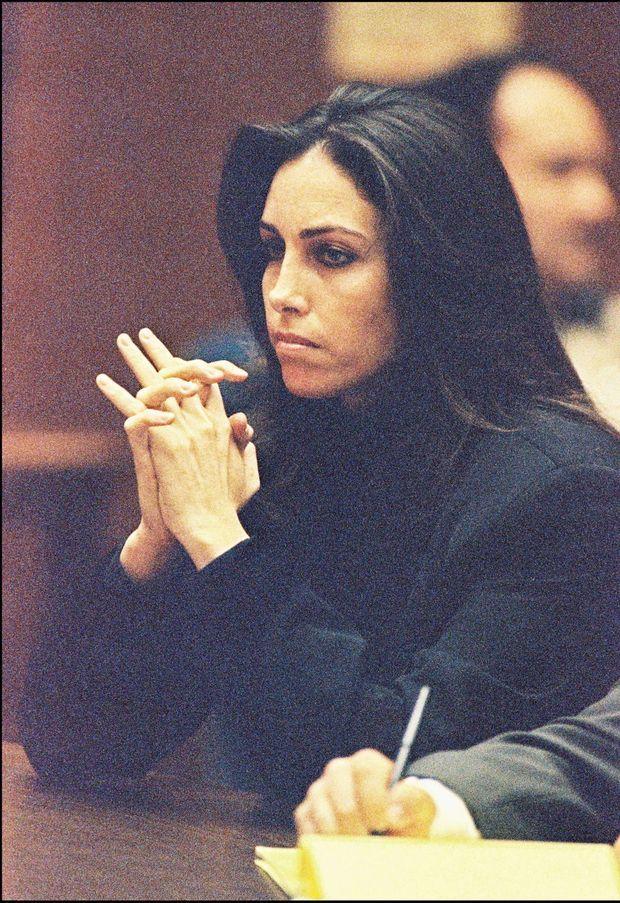 Heidi Fleiss lors de son procès en mars 1995.