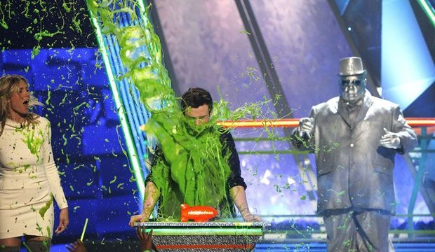Heidi Klum Chris Colfer Kid's Choice-