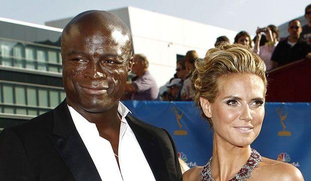 Heidi Klum et Seal-