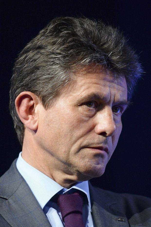 Henri de Castries, en juin dernier. L'ancien PDG du groupe d'assurances Axa est pressenti pour être ministre des Finances si François Fillon est élu.