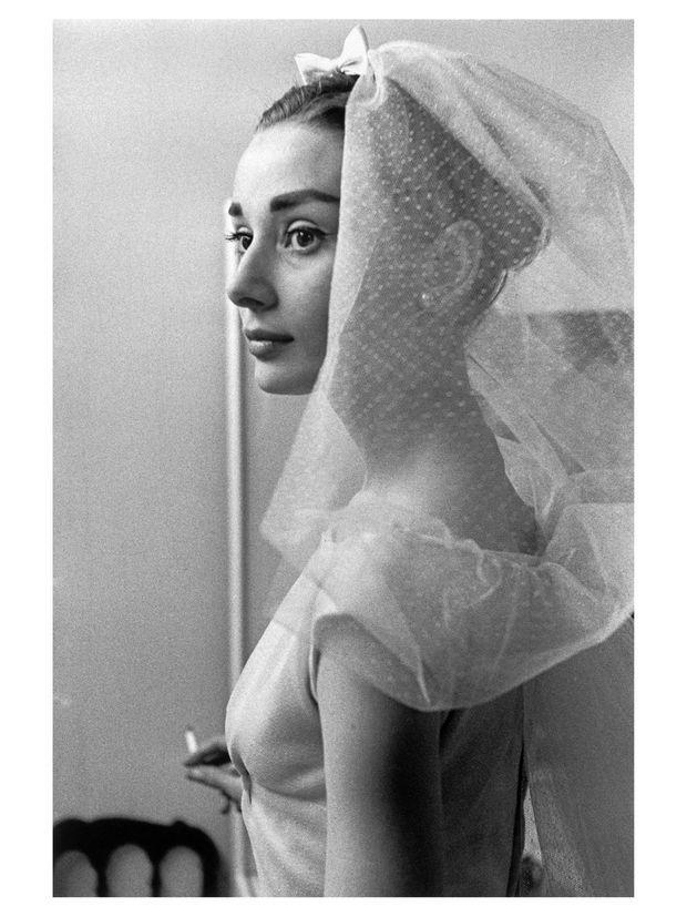 Audrey Hepburn. 1956.