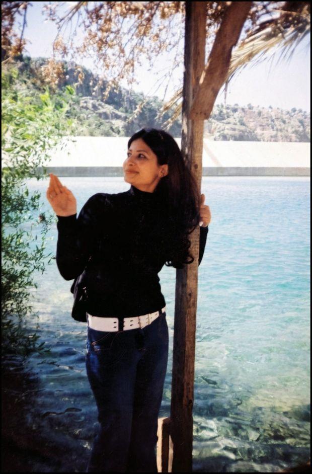 En dernière année universitaire, pendant des vacances à Lattaquié (Syrie), au bord de la Méditerranée
