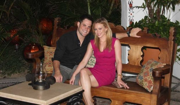Hilary Duff et Mike Comrie-