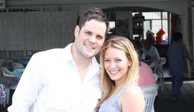 Hilary Duff et Mike Comrie -