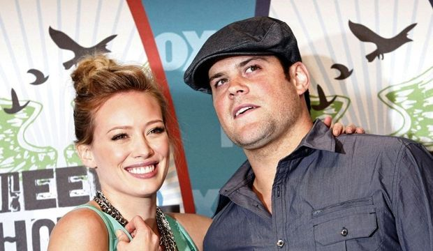 Hilary Duff Mike Comrie-
