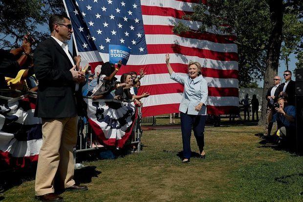 Hillary à Cleveland