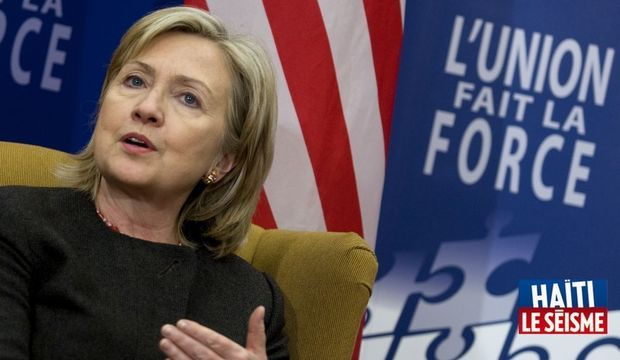 Hillary Clinton Conférence Haïti-