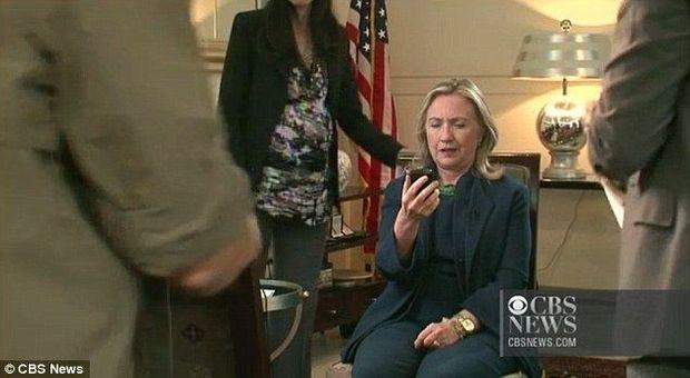 Hillary Clinton Kadhafi-