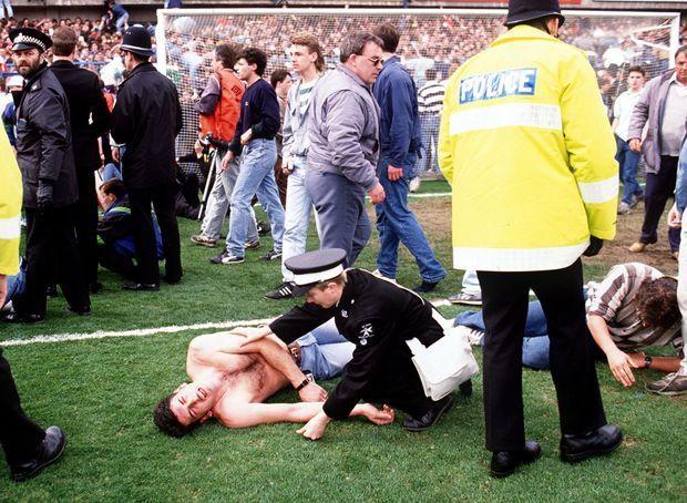 La tragédie d'Hillsborough.