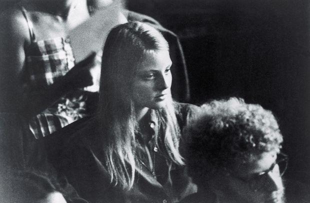 Jodie Foster à l'Université de Yale en 1981.