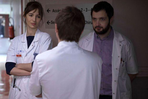 Louise Bourgoin (Chloé Antovska), Karim Leklou (Arben Bascha).