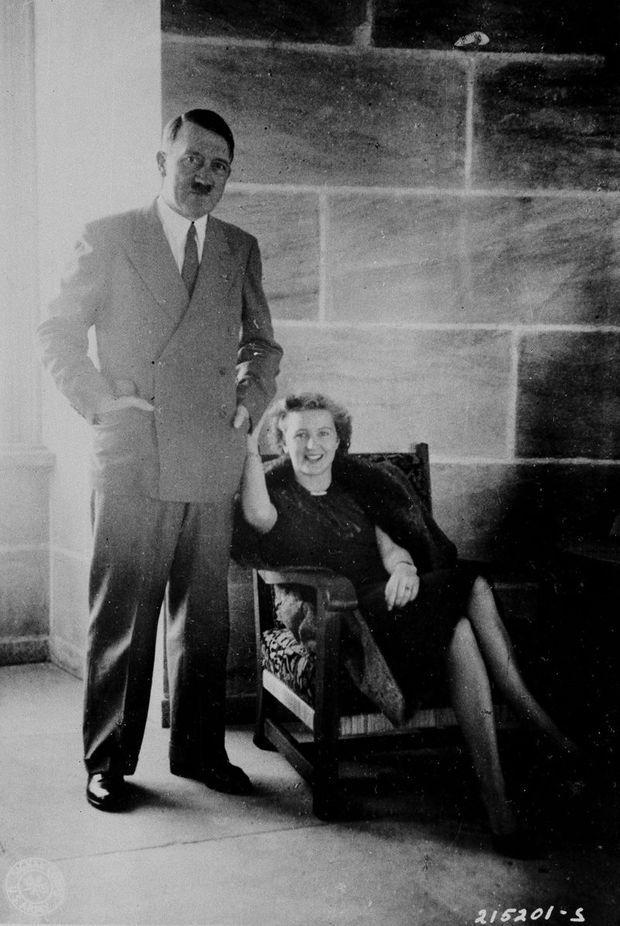 Hitler avait 23 ans de plus que sa maîtresse.