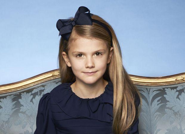 La princesse Estelle de Suède. Photo diffusée le 8 février 2020