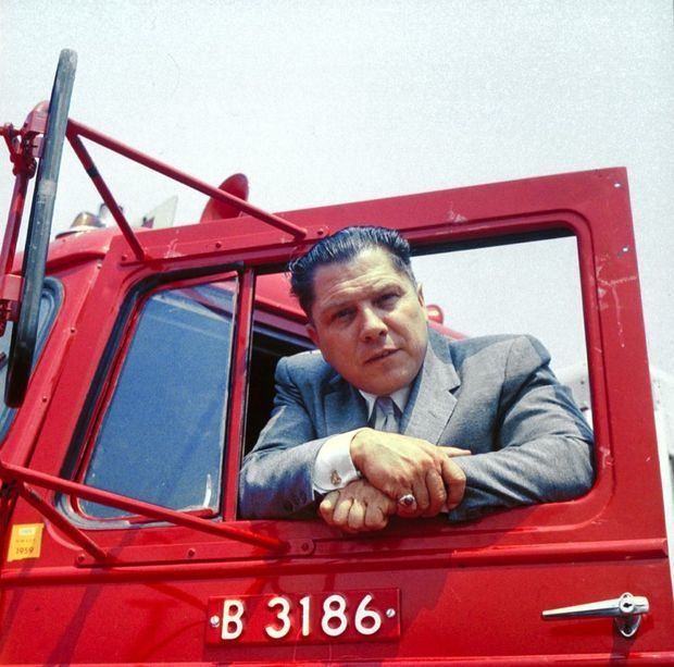 Jimmy Hoffa en 1959.