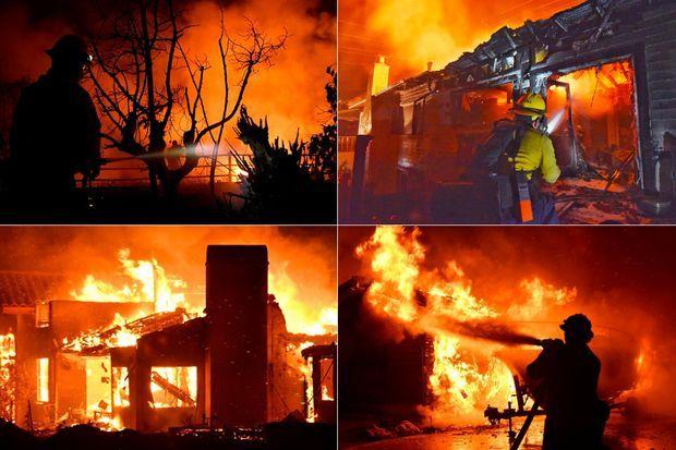 Le «Holiday Fire» a détruit 28 bâtiments, dont 13 maisons.
