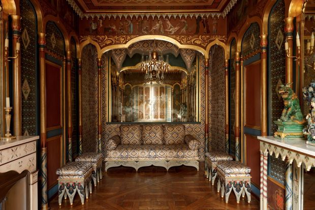 Le boudoir turc de l'hôtel de Beauharnais à Paris