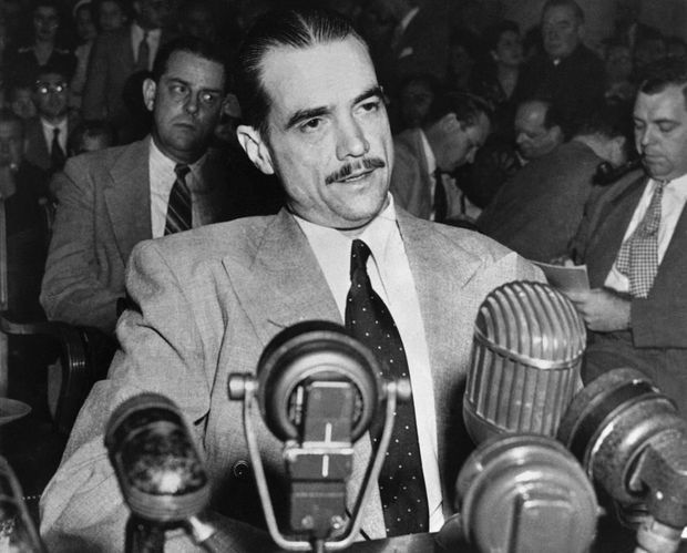 Howard Hughes en 1947.