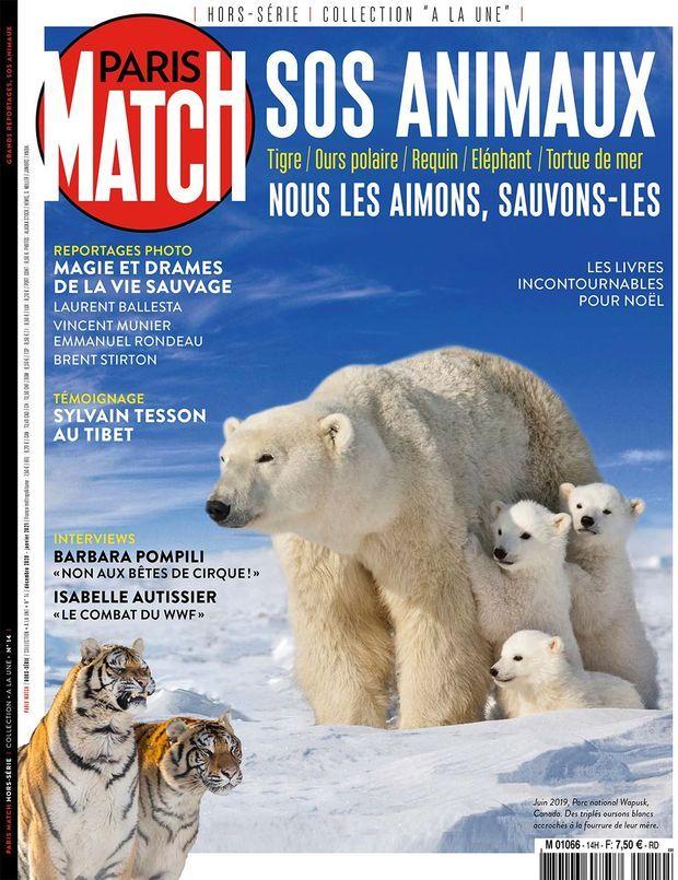 Notre hors-série « SOS Animaux », 100 pages de photos et de reportages exclusifs consacrées à la sauvegarde des animaux, en vente à partir du jeudi 10 décembre chez votre marchand de journaux...