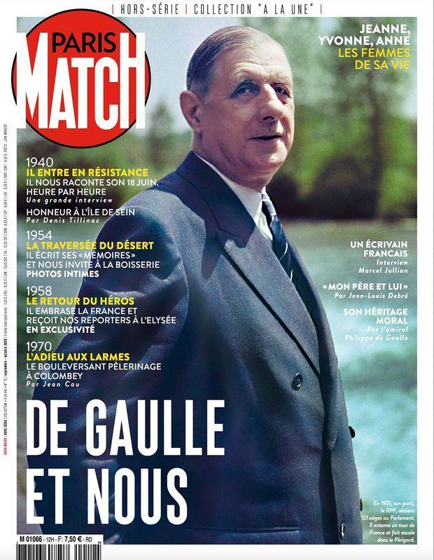 Notre hors-série « De Gaulle et nous », 100 pages de photos et de reportages exclusifs consacrées à la vie du Général, en vente à partir du jeudi 27 août chez votre marchand de journaux...