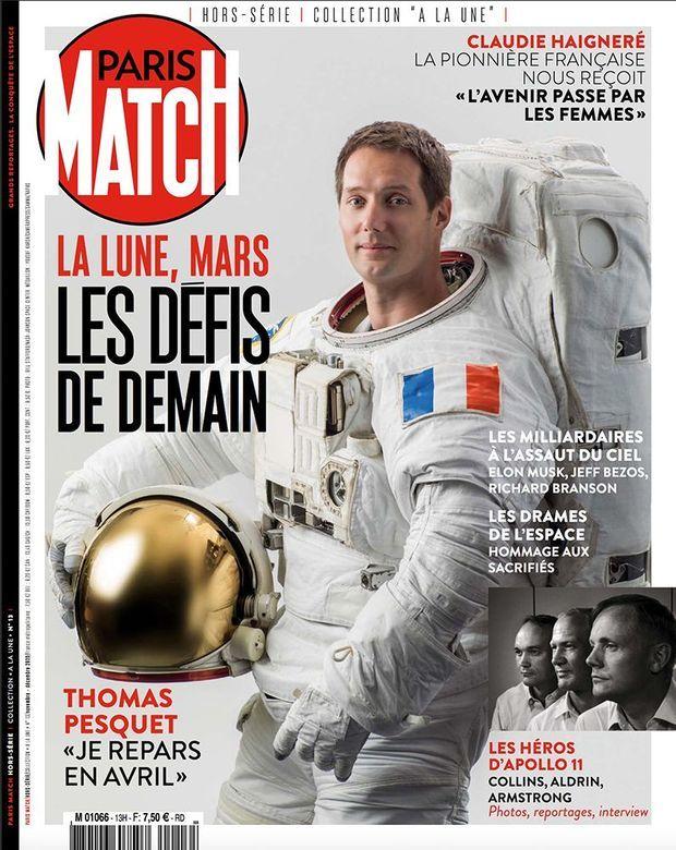Notre hors-série « La Lune, Mars : les défis de demain », 100 pages de photos et de reportages exclusifs consacrées à la conquête de l'espace, en vente à partir du jeudi 5 novembre chez votre marchand de journaux...