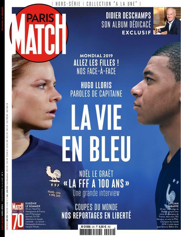 « La Vie en Bleu », un hors-série anniversaire en vente à partir du mercredi 29 mai chez votre marchand de journaux...