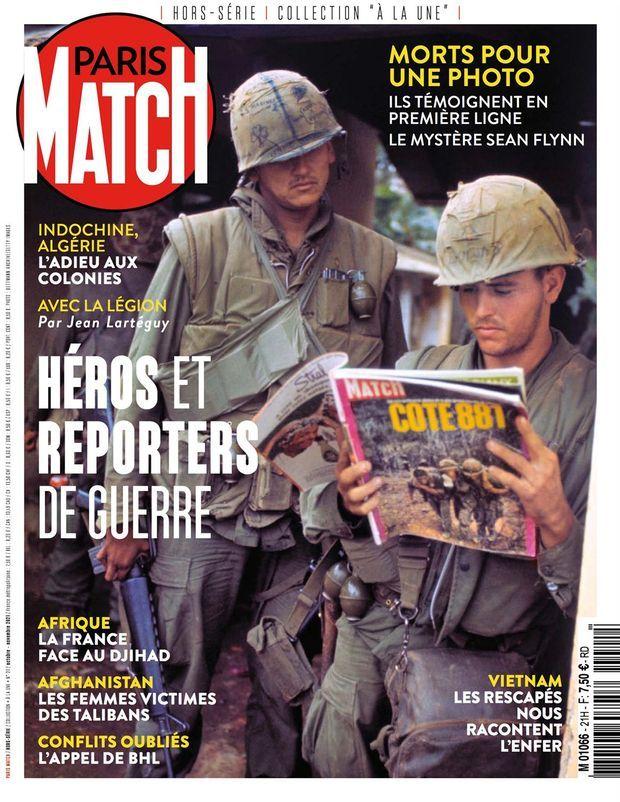 Notre hors-série « Héros et reporters de guerre », 100 pages de photos et de reportages exclusifs consacrées aux soldats et journalistes sur le front, est en vente à partir du jeudi 30 septembre chez votre marchand de journaux...