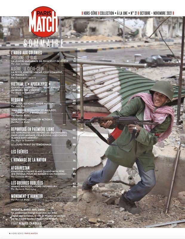 Au sommaire de notre hors-série « Héros et reporters de guerre », 100 pages de photos et de reportages exclusifs consacrées aux soldats et journalistes sur le front...