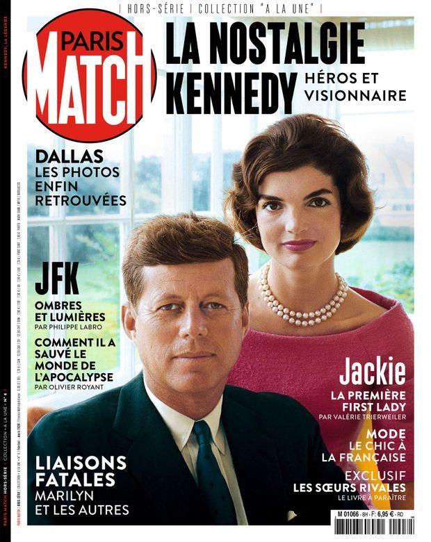 Notre hors-série « La nostalgie Kennedy », 100 pages de photos et de reportages exclusifs consacrées à l'histoire du clan Kennedy, en vente à partir du jeudi 12 février chez votre marchand de journaux. © Paris Match