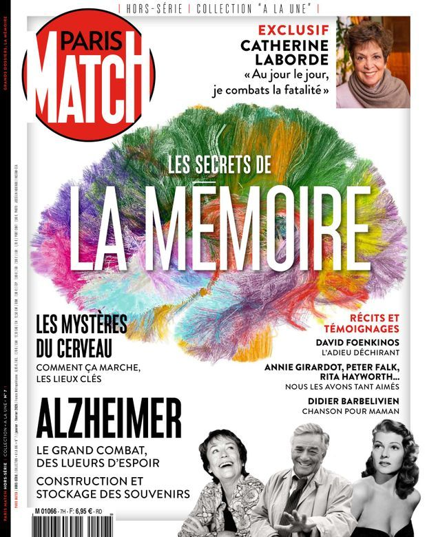 Notre hors-série « Les secrets de la mémoire », 100 pages de photos, d'interviews et d'analyses consacrées aux mystères de notre cerveau, en vente à partir du jeudi 8 janvier chez votre marchand de journaux...