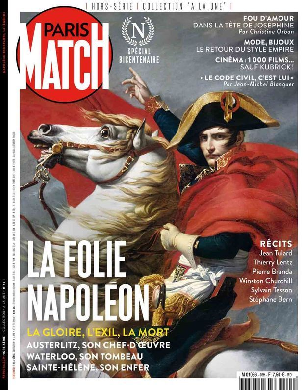 Notre hors-série « La folie Napoléon », 100 pages de photos et de reportages exclusifs consacrées à l'Empereur, en vente à partir du jeudi 18 février chez votre marchand de journaux...