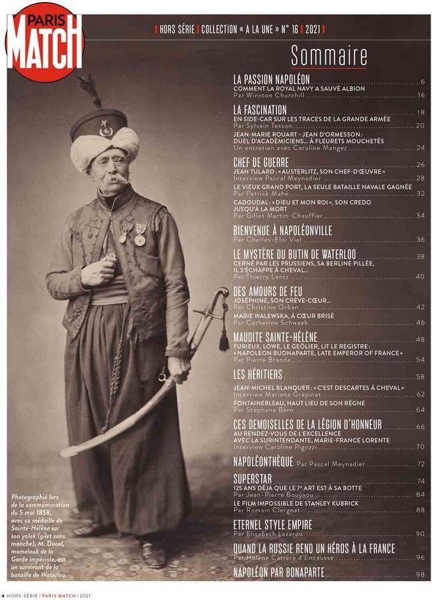 Au sommaire de notre hors-série « La folie Napoléon », 100 pages de photos et de reportages exclusifs consacrées à l'Empereur...