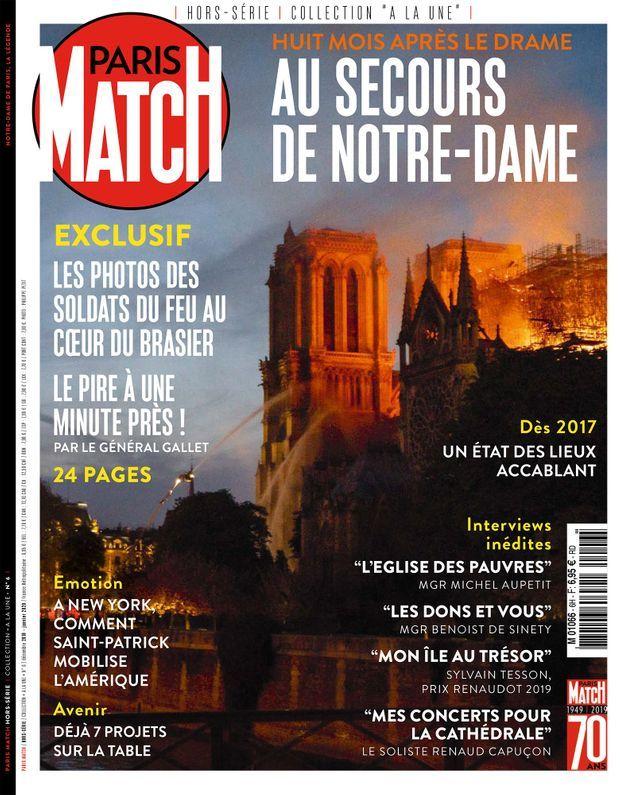 Notre hors-série « Au secours de Notre-Dame », 100 pages de photos et de reportages exclusifs consacrées à l'histoire et à la restauration de la Cathédrale de Paris, en vente à partir du mercredi 4 décembre chez votre marchand de journaux...