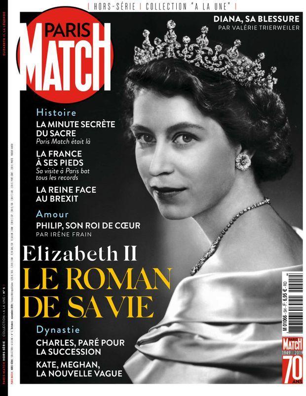 Notre hors-série « Elizabeth II, le roman de sa vie », 100 pages de photos et de reportages exclusifs consacrés à Sa Majesté, est en vente à partir du jeudi 16 octobre chez votre marchand de journaux...