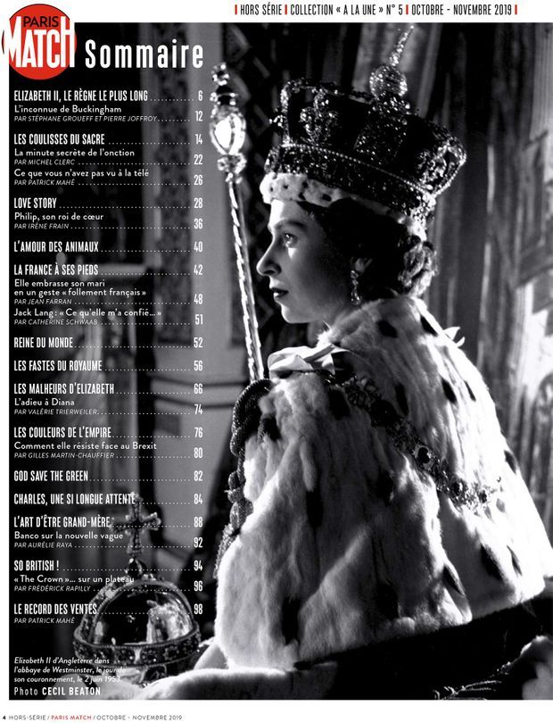 Au sommaire de notre hors-série « Elizabeth II, le roman de sa vie », 100 pages de photos et de reportages exclusifs consacrées à Sa Majesté...