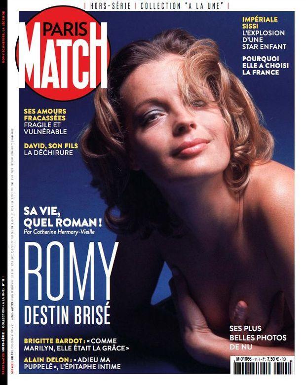 Notre hors-série « Romy, un destin brisé », 100 pages de photos et de reportages exclusifs consacrées à la vie de Romy Schneider, en vente à partir du jeudi 25 juin chez votre marchand de journaux...