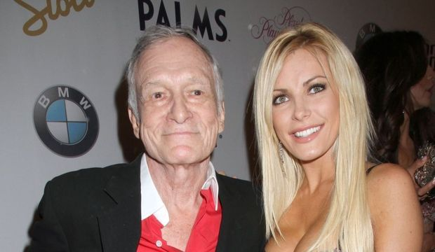 Hugh Hefner et Crystal Harris-