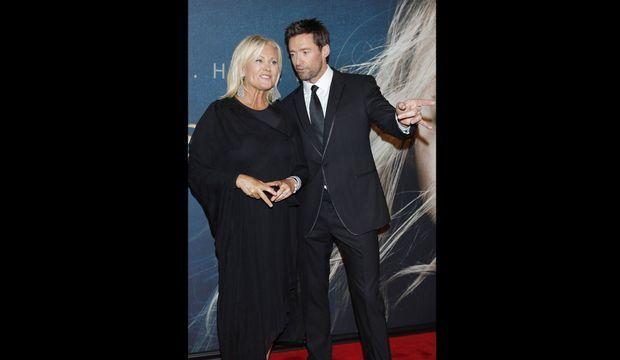 Hugh Jackman et son épouse Deborra -