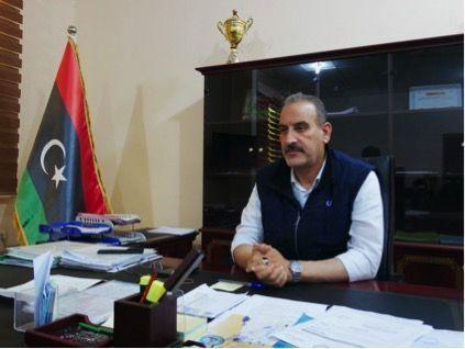 Hussein Ben Attia, le maire de Tajoura, mai 2019
