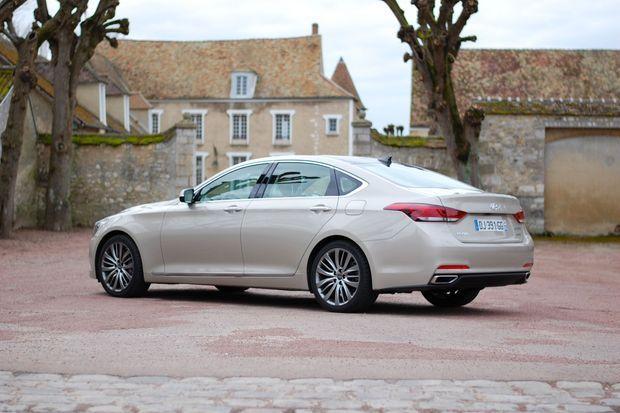 En France, la Genesis ne sera proposée qu'avec la transmission intégrale HTRAC.