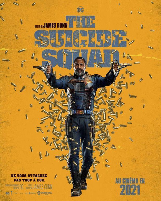 """Idris Elba en Bloodsport à l'affiche de """"The Suicide Squad"""""""