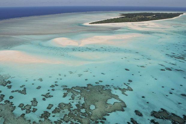 Un ilôt des îles Eparses dans le sud-ouest de l'océan Indien près de Madagascar.