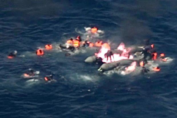 Un sauvetage très complexe, qui a permis de préserver la vie de 34 migrants.