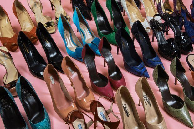 Les chaussures de luxe de Catherine Deneuve mises en vente pour la bonne cause