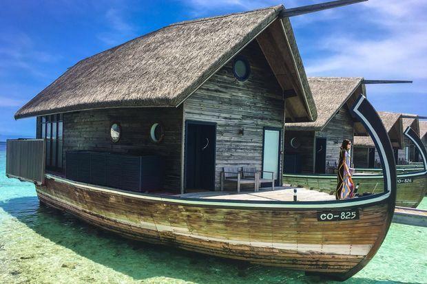 Aux Maldives, ce collier de 1200 îles, le bateau est évidemment roi.