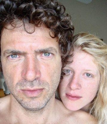 Selfie du couple