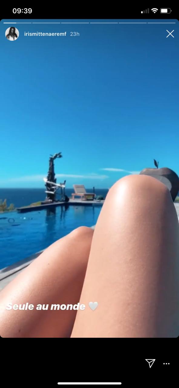 Iris Mittenaere en vacances en Corse le 15 juin 2020