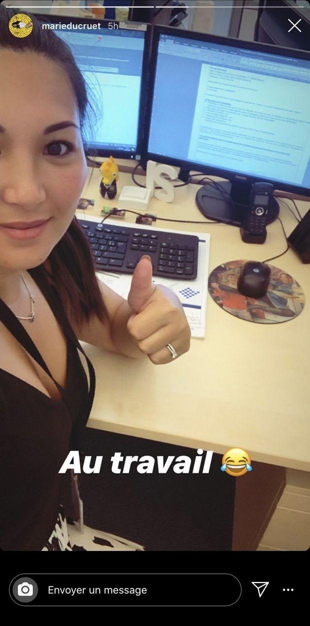 Marie Ducruet répond aux personnes qui l'accusent de ne pas travailler