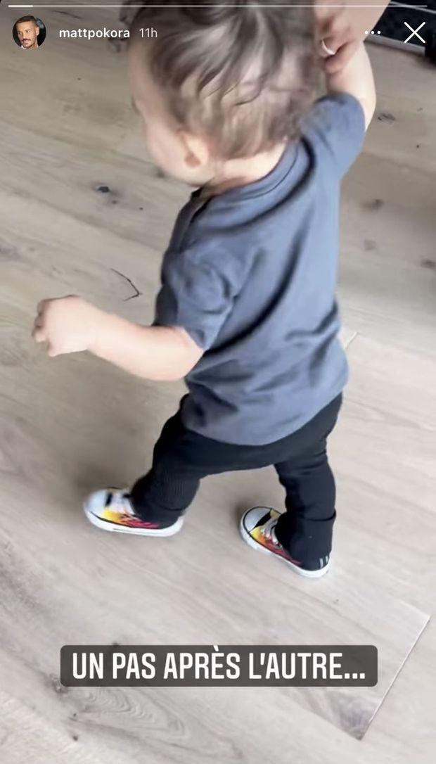 Le fils de Matt Pokora et Christina Milian, Isaiah, fait ses premiers pas, le 3 janvier 2020