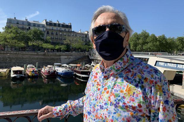 Gilbert Montagné pour Paris Match