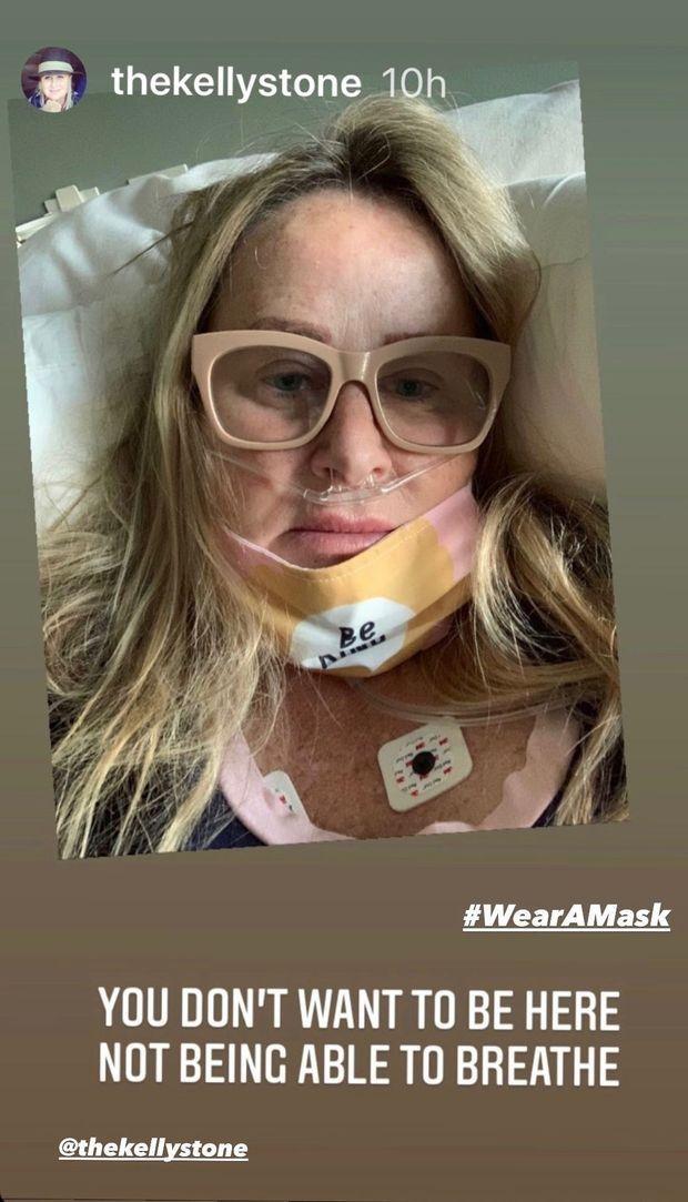 Sharon Stone dévoile une photo de sa soeur atteinte du coronavirus.